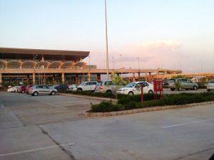 Mohali International Airport parking lot