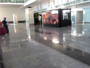 Mohali International Airport inside view