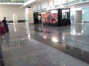 Mohali International Airport inside view